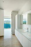 Interior, modern bathroom Royalty Free Stock Images