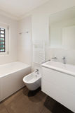 Interior, modern bathroom Royalty Free Stock Photos