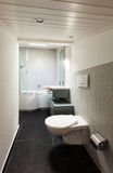 Interior, modern bathroom Stock Images