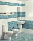 Interior of modern bathroom Stock Images