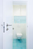 Interior of modern bathroom Royalty Free Stock Image