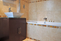 Interior of a modern bathroom2 Royalty Free Stock Images