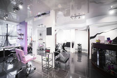Interior of modern beauty salon Royalty Free Stock Image