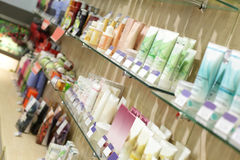 Interior of modern beauty salon Stock Photos
