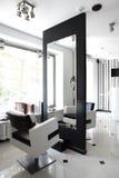 Interior of modern beauty salon Royalty Free Stock Photos