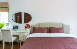 Interior of a modern bed room Stock Photos