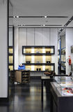 Interior of a modern boutique store Royalty Free Stock Image