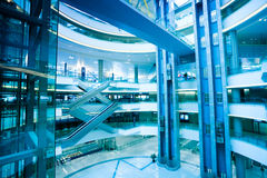 Interior of modern building Royalty Free Stock Image
