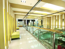 Interior of modern building Royalty Free Stock Photo
