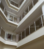 Interior of a modern building Royalty Free Stock Image