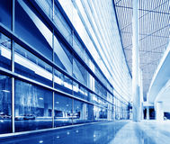 Interior of modern building Stock Images