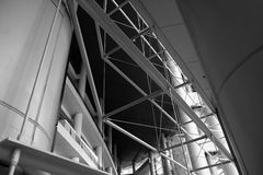 Interior of modern building Royalty Free Stock Photography