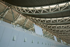 Interior modern building roof Royalty Free Stock Images