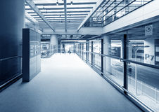 Interior of modern building Royalty Free Stock Photos
