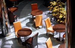 Interior of modern cafe Stock Photo