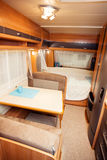 Interior of Modern Camper Royalty Free Stock Photo