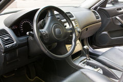 Interior of a modern car Stock Image