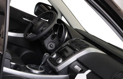 Interior of a modern car Royalty Free Stock Image