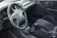Interior of modern car Royalty Free Stock Photography