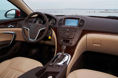 Interior of a modern car Stock Photo