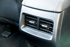Interior of a modern car, Car Air Conditioner Stock Photography