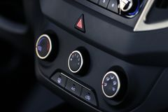 Interior of modern car Royalty Free Stock Images