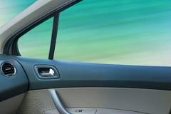 Interior of a modern car Royalty Free Stock Photos