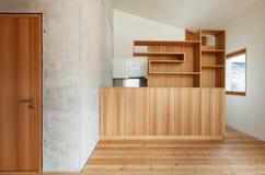 Interior modern chalet Stock Image