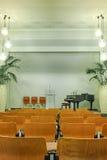 Interior of modern church. Seventh-day Adventist Church interior. Munich, Germany stock photo