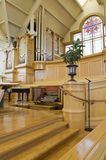 Interior Of Modern Church. Interior view of a modern church royalty free stock images