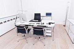 Interior of a modern and clean office stock photos
