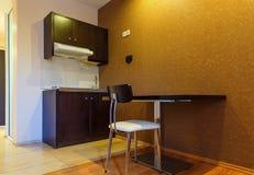 Interior of modern comfortable european resort hotel room Royalty Free Stock Image