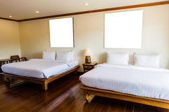 Interior of modern comfortable hotel Stock Photo