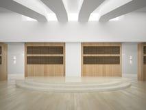 Interior of modern concert hall 3D rendering Stock Photo