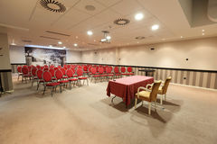 Interior of a modern conference hall Royalty Free Stock Image