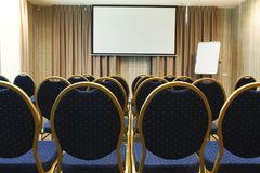Interior of modern conference hall in hotel Stock Photo
