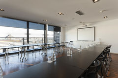 Interior of a modern conference room Stock Photos
