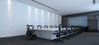 Interior of a modern conference room Royalty Free Stock Photography