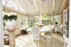 Interior Of Modern Conservatory Royalty Free Stock Photography