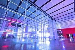 Interior of modern corridor Royalty Free Stock Photo
