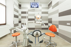 Interior of modern dental office. Stock Photos