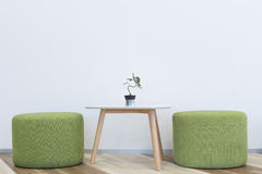 Interior modern design. Interior modern  design chair and table Stock Image