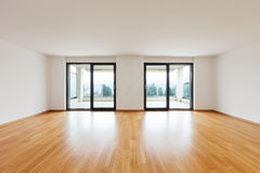 Interior modern empty flat, apartment Royalty Free Stock Images
