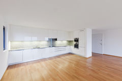 Interior modern empty flat, apartment Royalty Free Stock Photography