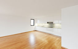 Interior modern empty flat, apartment Royalty Free Stock Image