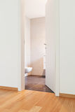 Interior modern empty flat, apartment Stock Photo