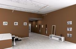 Interior of modern entrance hall Stock Photos