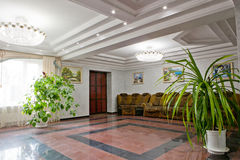 Interior of modern european hotel Stock Photo