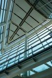 Interior Modern Glass facade building Stock Photography