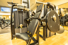 Interior of modern gym Royalty Free Stock Photo